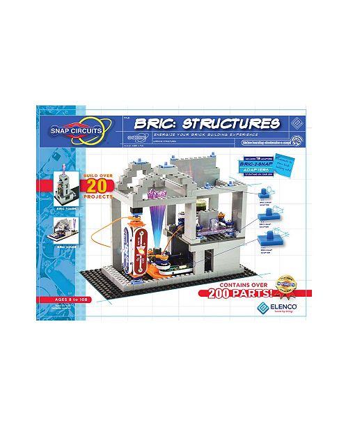Elenco Snap Circuits Bric Structures Building Set