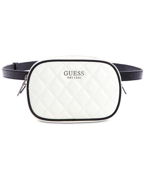 89a2488c78 GUESS Sweet Candy Belt Bag   Reviews - Handbags   Accessories ...