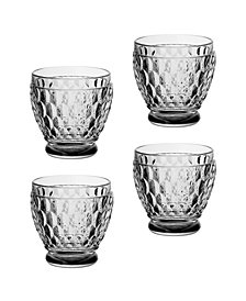Villeroy & Boch Boston Smoke Shot Glasses, Set of 4