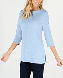 Cotton 3/4-Sleeve Tunic, Created for Macy's