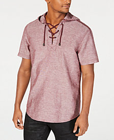 I.N.C. Men's Eric Drawstring Hooded Shirt, Created for Macy's