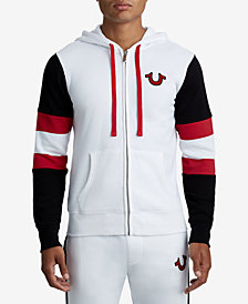 True Religion Men's Colorblocked Logo Hoodie