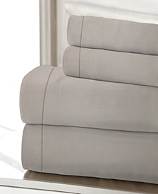 1200 Thread Count Solid Sateen King Sheet Set