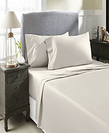 800 TC Solid Sateen Queen Sheet Set