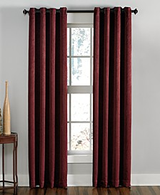 "Lenox 50"" x 120"" Crushed Texture Curtain Panel"
