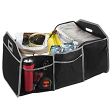 Home Basics Trunk Organizer with Cooler