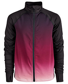 Ideology Big Girls Ombré Active Jacket, Created for Macy's