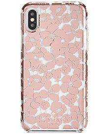 kate spade new york Floret Clear iPhone X2 Case