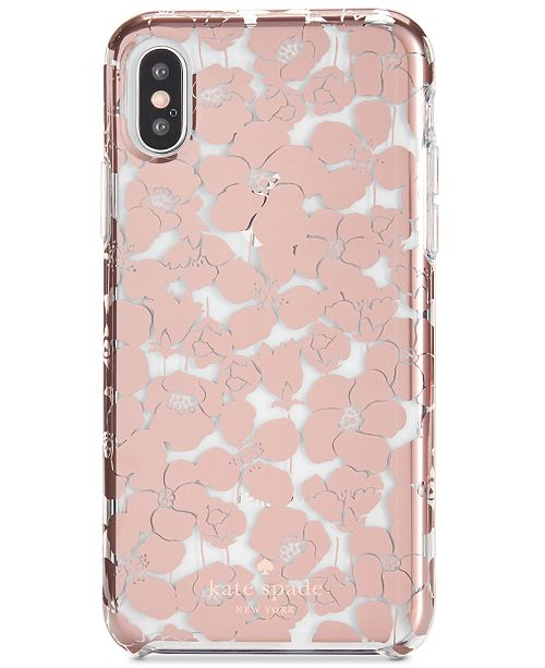 brand new 5bc29 54f2d kate spade new york Floret Clear iPhone X2 Case & Reviews ...