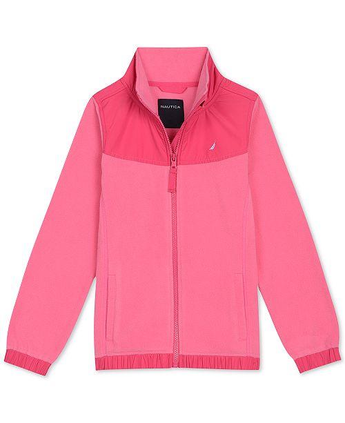 Nautica Little Girls Polar Fleece Jacket