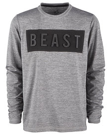 Ideology Big Boys Beast-Print T-Shirt, Created for Macy's