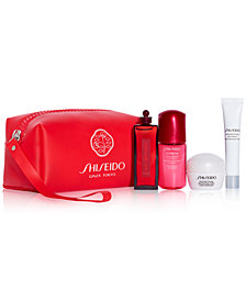 Receive a Free 5pc Skincare Gift with $75 Shiseido Purchase! Created for Macy's