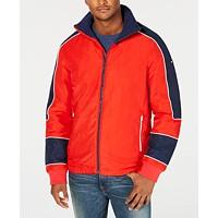 Tommy Hilfiger Mens Deer Valley Jacket (High Risk Red/ Multi)
