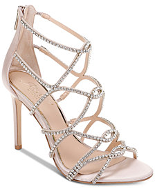 Jewel Badgley Mischka Delancey Evening Sandals