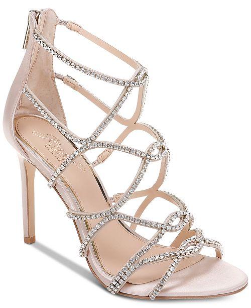 98b7f562844 ... Jewel Badgley Mischka Jewel by Badgley Mischka Delancey Evening Sandals  ...