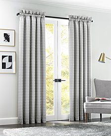 "J Queen New York Elite Arlo Gray 50"" x 95"" Drapery Pair"