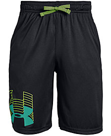 Under Armour Big Boys Prototype Logo Shorts