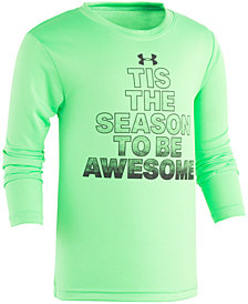 Under Armour Little Boys Season-Print T-Shirt