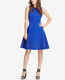DKNY Embellished Fit & Flare Dress, Created for Macy's