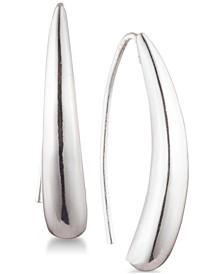 Sculptural Threader Earrings