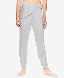 Gaiam X Jessica Biel Bryant Wrap-Detail Fleece Pants