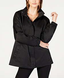 Eileen Fisher Organic Cotton Hooded Jacket