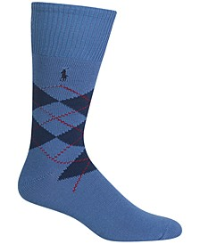 Men's Men's Five Diamond Argyle Socks