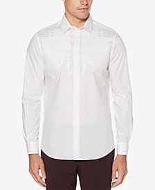Perry Ellis Men's Regular-Fit Embroidered Shirt