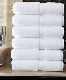 Sinemis 6-Pc. Bath Towel Set