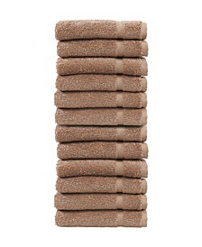 Denzi 12-Pc. Washcloth Set