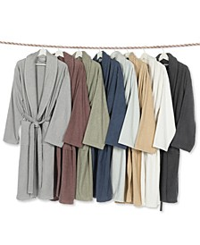 Unisex Herringbone Weave Bath Robe