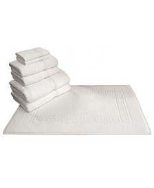 100% Turkish Cotton Terry 7-Pc. Towel Set