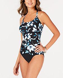 Island Escape Printed Tankini Top & Bikini Bottoms, Created for Macy's