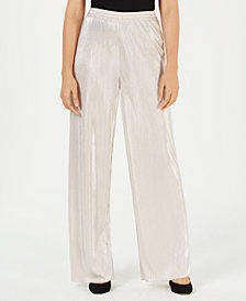 LEYDEN Pleated Wide-Leg Pants
