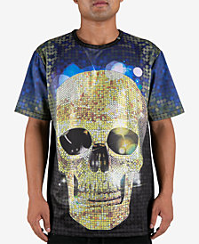 Hudson NYC Men's Golden Skull T-Shirt