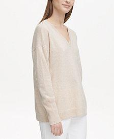 Calvin Klein Cashmere V-Neck Sweater