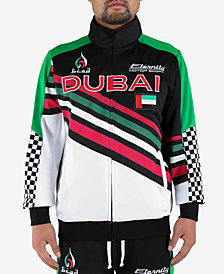 Hudson NYC Men's Dubai Racing Track Jacket