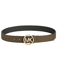 3ddcf15227017 MICHAEL Michael Kors Plus-Size Reversible Signature with Logo Buckle Belt
