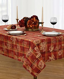 Elrene Jeffrey Plaid Tablecloth Collection