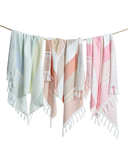 Linum Home Summer Loving Pestemal Beach Towel
