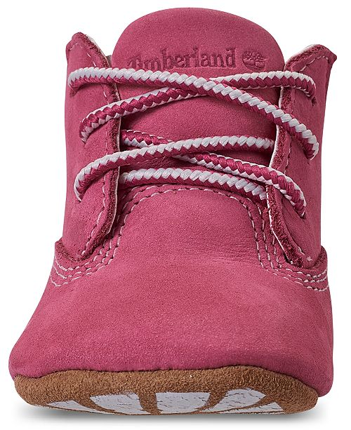 e3a1e510ecfd1 Timberland Baby Girls' Crib Booties and Cap Set from Finish Line ...