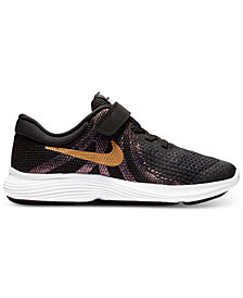 Nike Little Girls' Renew Rival Reflective Running Sneakers from Finish Line