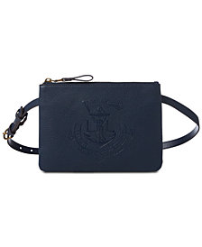 Lauren Ralph Lauren Huntley Embossed-Logo Fanny Pack