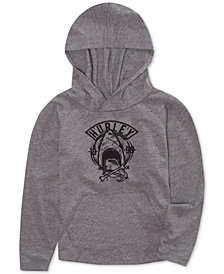 Hurley Little Boys Shark Hoodie