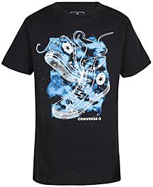 Converse Big Boys Cosmic Chucks Graphic T-Shirt