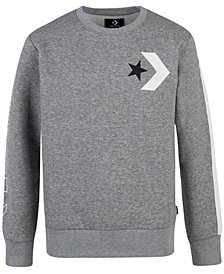 Converse Big Boys Chevron Fleece Sweatshirt