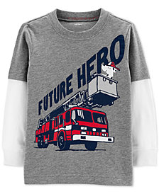 Carter's Toddler Boys Future Hero Graphic Cotton T-Shirt