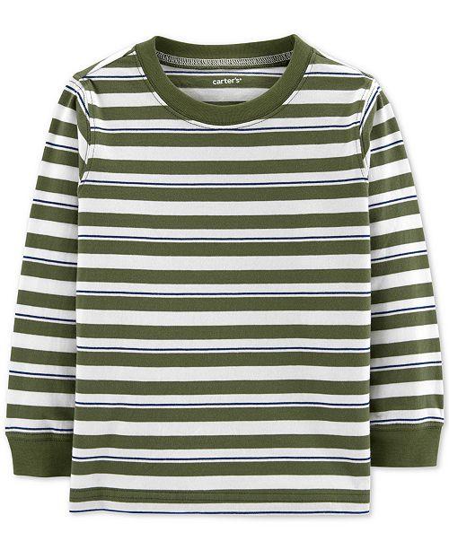 Carter's Toddler Boys Striped Cotton T-Shirt