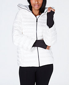 Calvin Klein Down-Filled Hooded Puffer Jacket