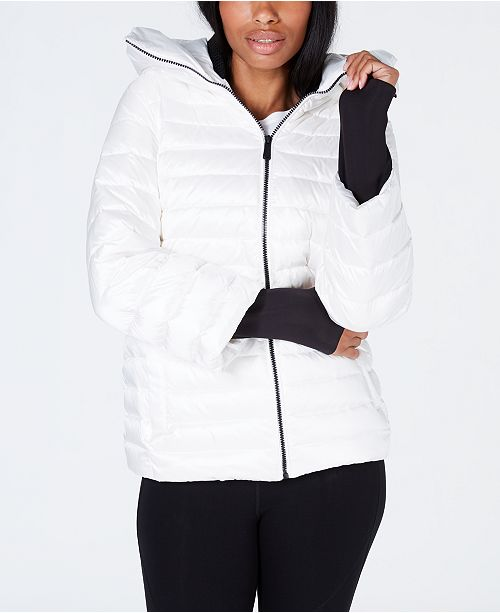 88a4bf4903a Calvin Klein Calvin Klein Down-Filled Hooded Puffer Jacket   Reviews ...